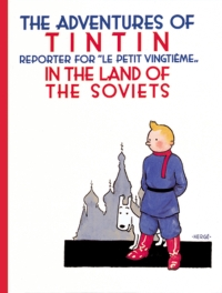 Book Cover for the Adventures of Tintin Series