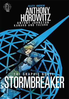 Book Cover for the Alex Rider: The Graphic Novel Series