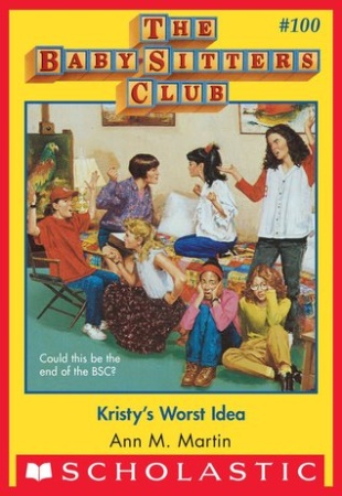 Book Cover for Kristy's Worst Idea