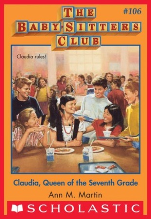 Book Cover for Claudia, Queen of the Seventh Grade