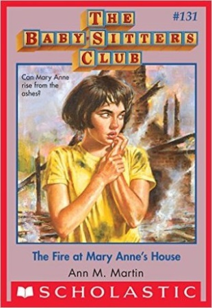 Book Cover for The Fire at Mary Anne's House