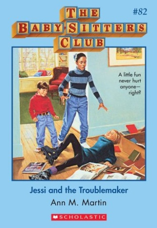 Book Cover for Jessi and the Troublemaker