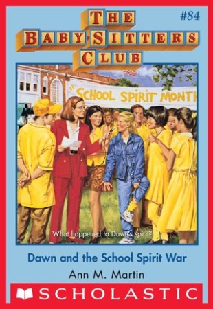 Book Cover for Dawn and the School Spirit War
