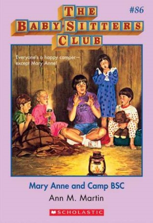 Book Cover for Mary Anne and Camp BSC