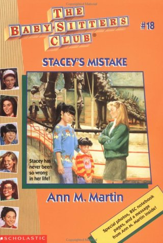 Book Cover for Stacey's Mistake
