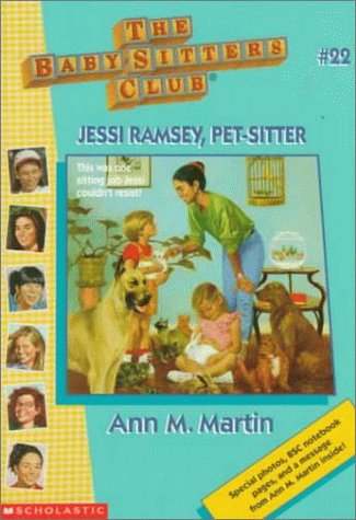 Book Cover for Jessi Ramsey, Pet-sitter