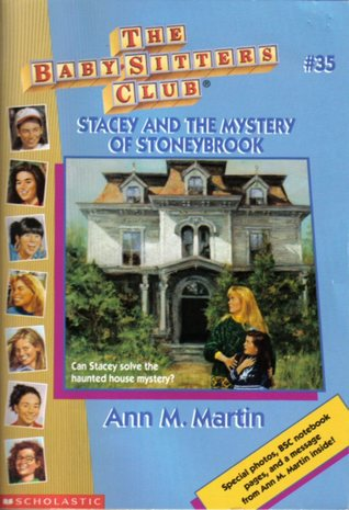Book Cover for Stacey and the Mystery of Stoneybrook