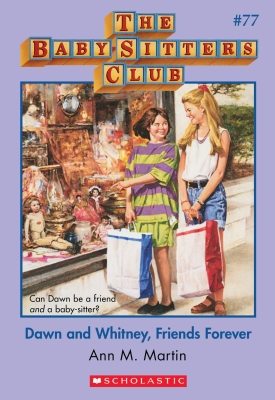Book Cover for Dawn and Whitney, Friends Forever