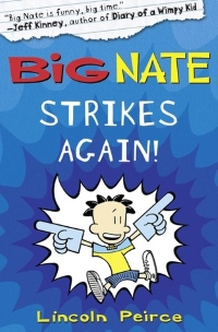 Book Cover for Big Nate Strikes Again