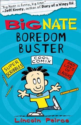 Book Cover for Big Nate Boredom Buster