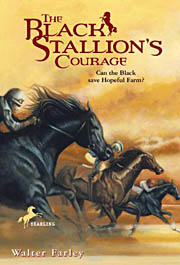 Book Cover for The Black Stallion's Courage