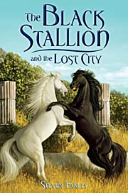 Book Cover for The Black Stallion and the Lost City