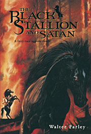 Book Cover for The Black Stallion and Satan