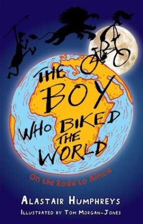 Book Cover for the Boy Who Biked the World Series