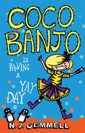 Book Cover for the Coco Banjo Series