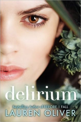 Book Cover for the Delirium Series