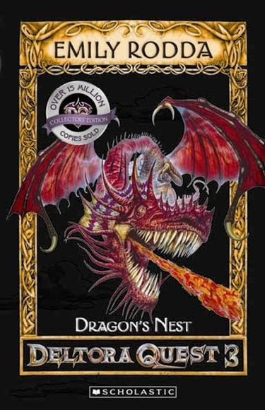 Book Cover for the Deltora Quest 3: Dragons of Deltora Series