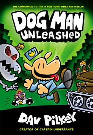 Book Cover for Dog Man Unleashed