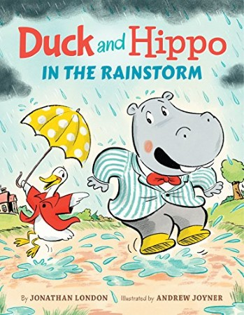 Book Cover for Duck and Hippo in the Rainstorm