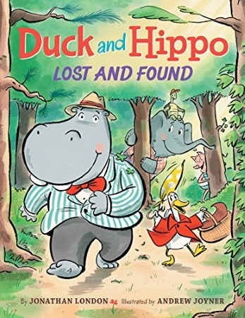 Book Cover for Duck and Hippo Lost and Found