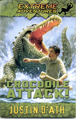 Book Cover for Crocodile Attack