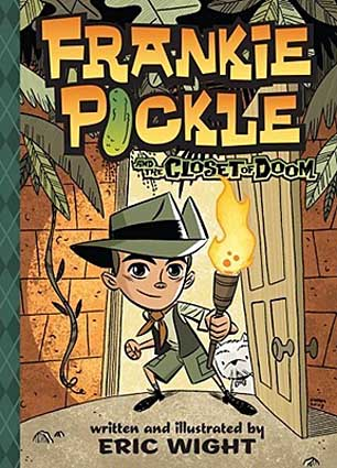 Book Cover for the Frankie Pickle Series