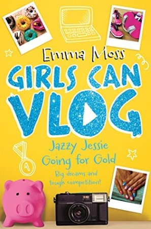 Book Cover for Jazzy Jessie: Going for Gold
