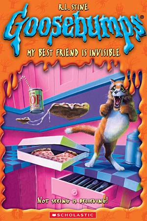 Book Cover for My Best Friend is Invisible