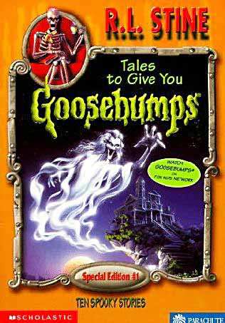 Book Cover for Tales to Give You Goosebumps