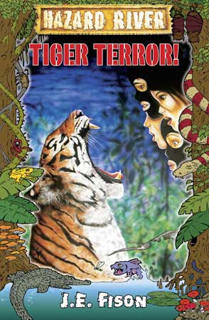 Book Cover for Tiger Terror!