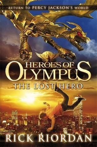 Book Cover for Heroes of Olympus