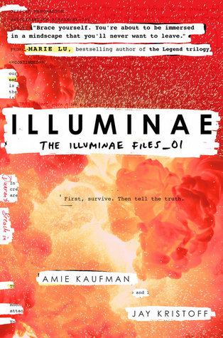 Book Cover for the Illuminae Files Series