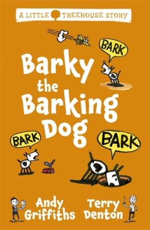 Book Cover for Barky the Barking Dog