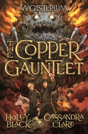 Book Cover for The Copper Gauntlet