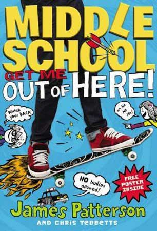 Book Cover for Middle School: Get Me Out of Here!