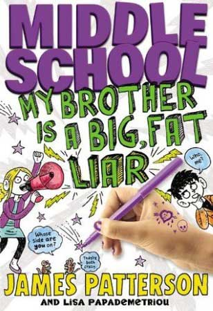 Book Cover for Middle School: My Brother is a Big, Fat Liar