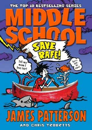 Book Cover for Middle School: Save Rafe!