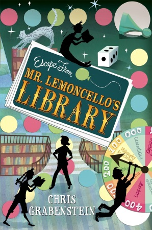 Book Cover for Mr Lemoncello's Library