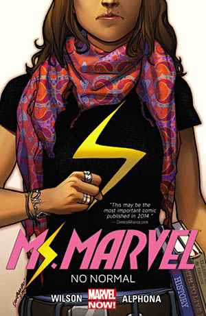 Book Cover for Ms Marvel