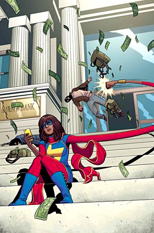 Book Cover for Ms Marvel, Volume 2: Generation Why