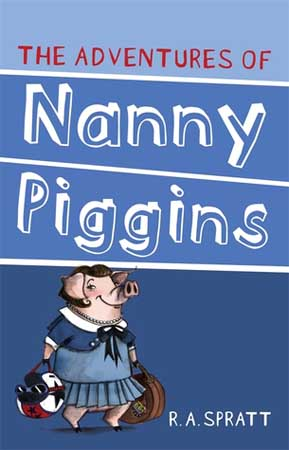 Book Cover for Nanny Piggins
