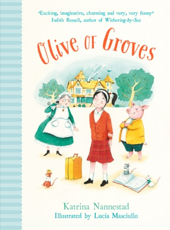 Book Cover for Olive of Groves