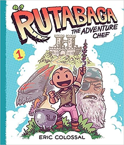 Book Cover for Rutabaga the Adventure Chef