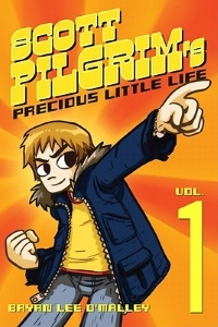 Book Cover for the Scott Pilgrim Series