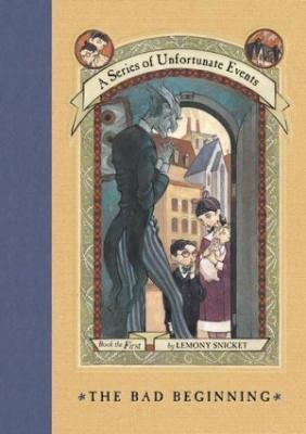 Book Cover for Series of Unfortunate Events
