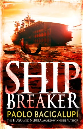 Book Cover for the Ship Breaker Series