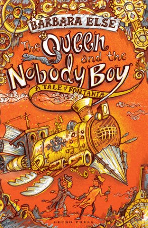 Book Cover for The Queen and the Nobody Boy