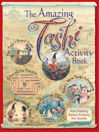 Book Cover for Amazing Tashi Activity Book