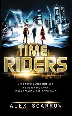 Book Cover for Time Riders