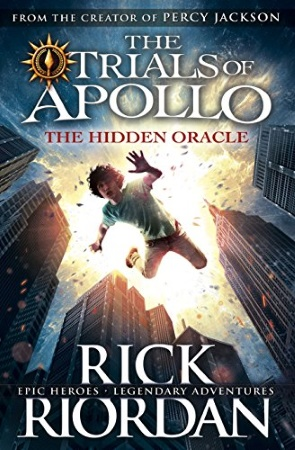 Book Cover for the Trials of Apollo Series